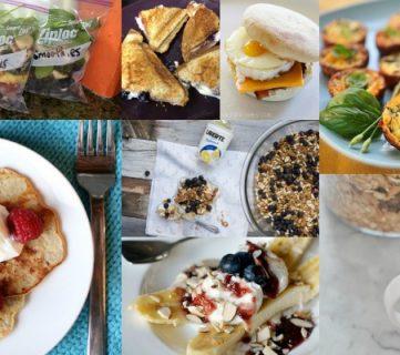 Ten Quick and Easy Breakfast Recipes