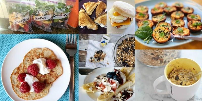 quick breakfast recipes via remodelaholic