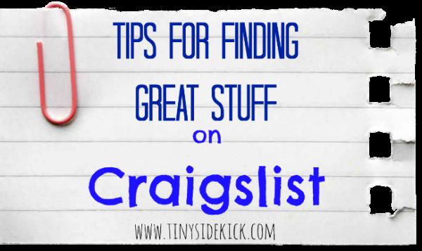 02-07 tips for Craigslist, Tiny Sidekick