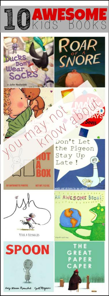 10 awesome kids books you may not know about