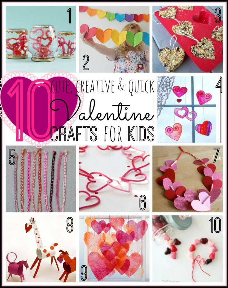 Cute Valentine Crafts For Kids  TipsaholicCom