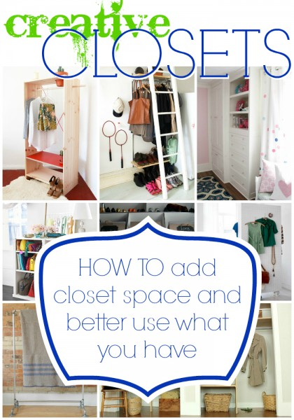 Remodelaholic Easy Tricks To Create More Closet Space