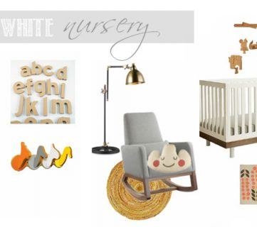 Designing a Nursery Using Black and White