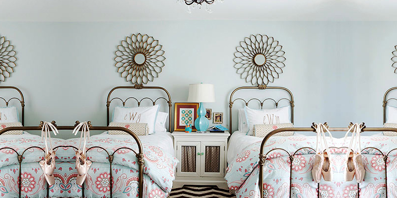 Get This Look: Girls' Shared Bedroom Symmetry
