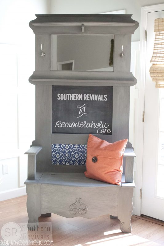 Southern Revivals | Vintage Halltree Makeover on Remodelaholic