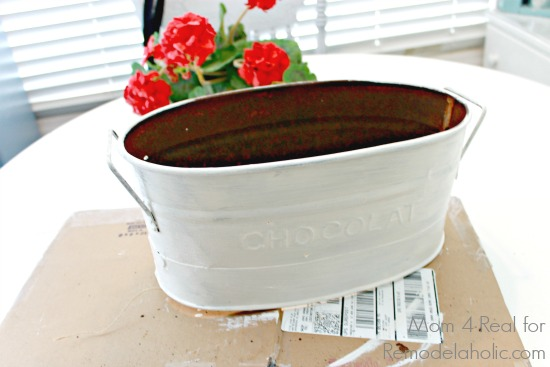 Upcycled Planter - White