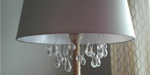 chandelier floor lamp