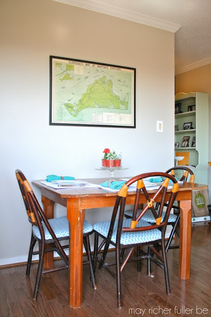 dining table without pendant light, May Richer Fuller Be featured on Remodelaholic