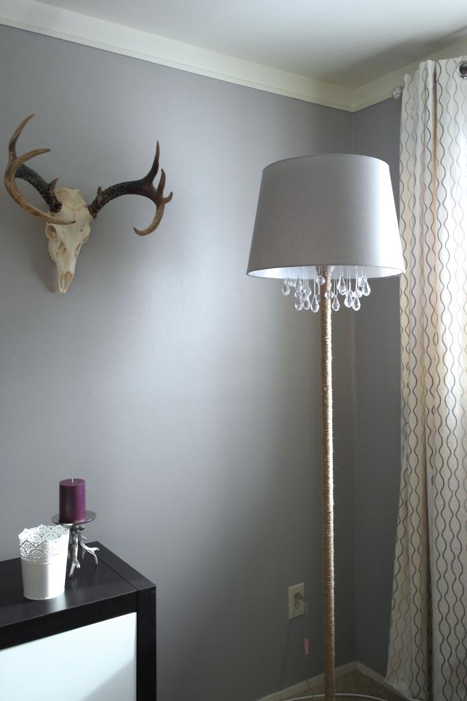 Best finished chandelier floor lamp Sypsie Designs featured on Remodelaholic