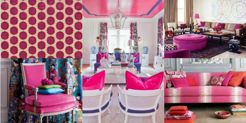 Best Colors For Your Home: Fuchsia