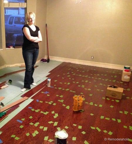 tips Installing a new wood floor floating floor instalation tips (10 of 15)