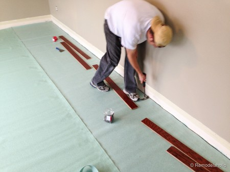 tips Installing a new wood floor floating floor instalation tips (5 of 15)