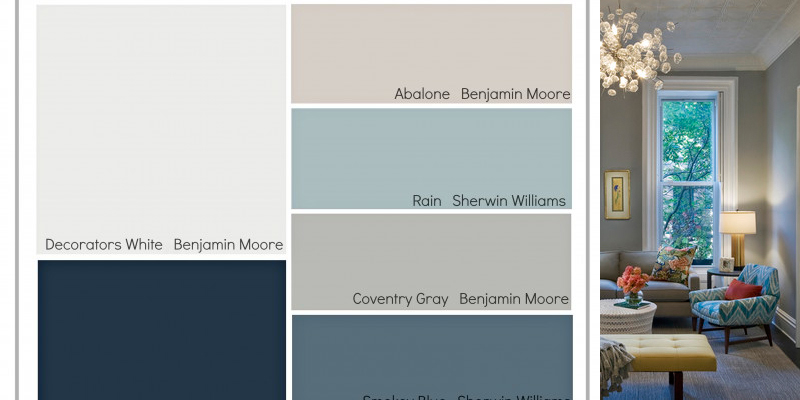Remodelaholic | Transitional Paint Color Palette