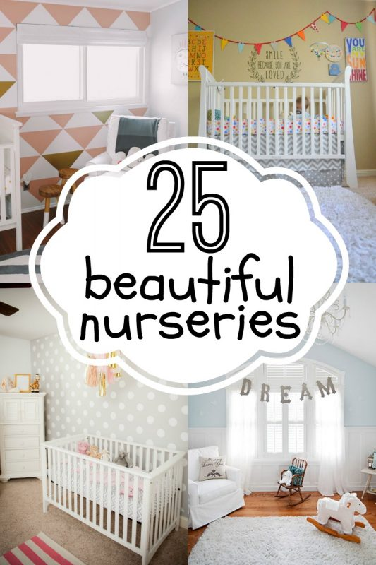 25 Beautiful Nurseries via Remodelaholic