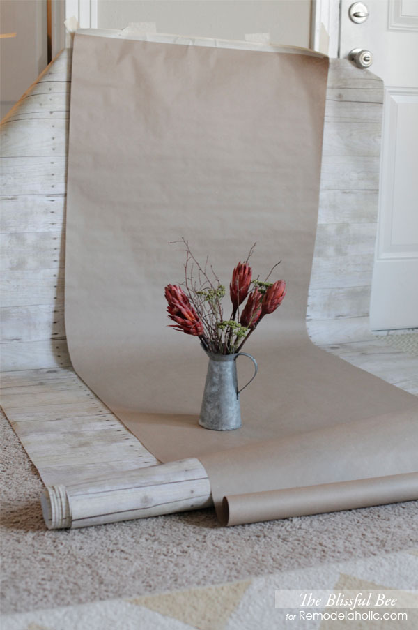 Using Paper Photography Backdrops