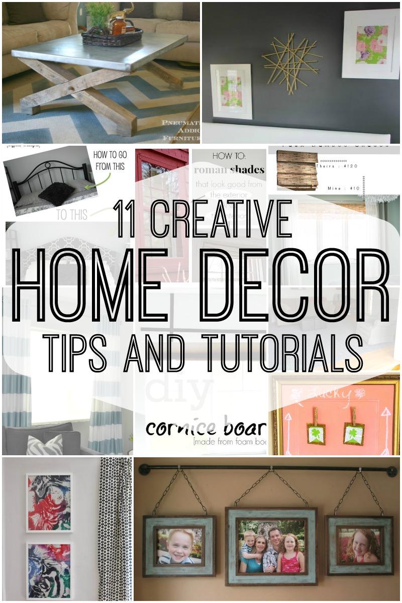 remodelaholic 11 creative home decor tips and tutorials. Black Bedroom Furniture Sets. Home Design Ideas