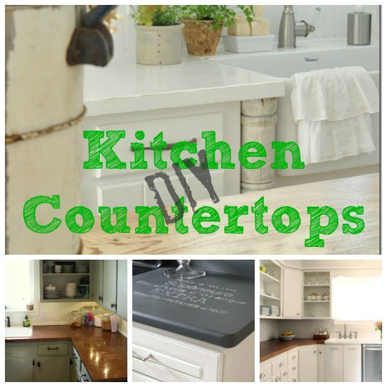 Diy Wood Kitchen Countertops: DIY Kitchen Countertops