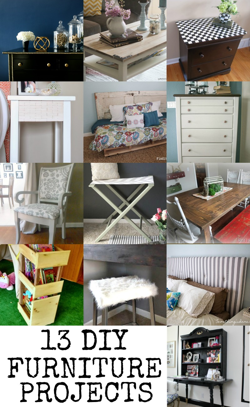 Diy Furniture Projects Remodelaholic 13 Diy Furniture Projects Link Party