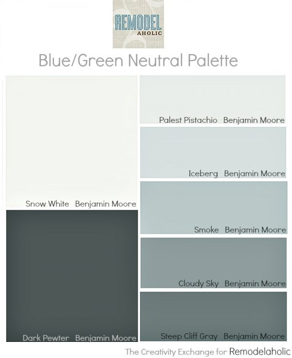 Easy paint color strategy for the whole home {Remodelaholic}