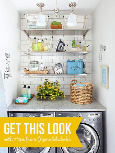 Fresh Laundry Nook