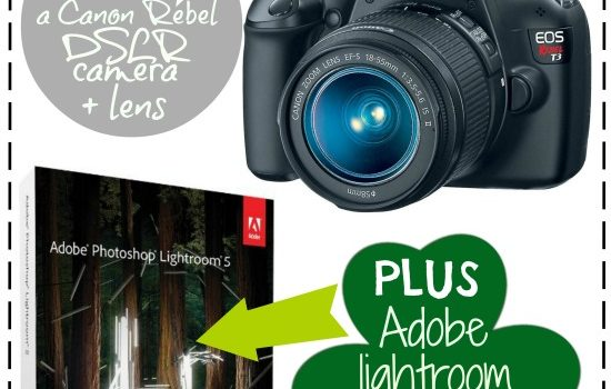 Get Luck!  Canon Camera and Lightroom Giveaway!