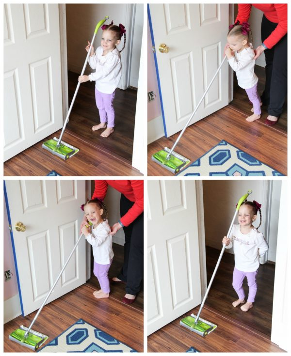 Cleaning with kids can be fun! From Remodelaholic