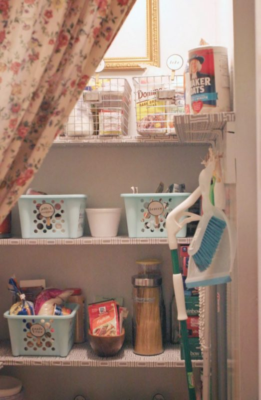 budget pantry makeover, Craftivity Designs on Remodelaholic