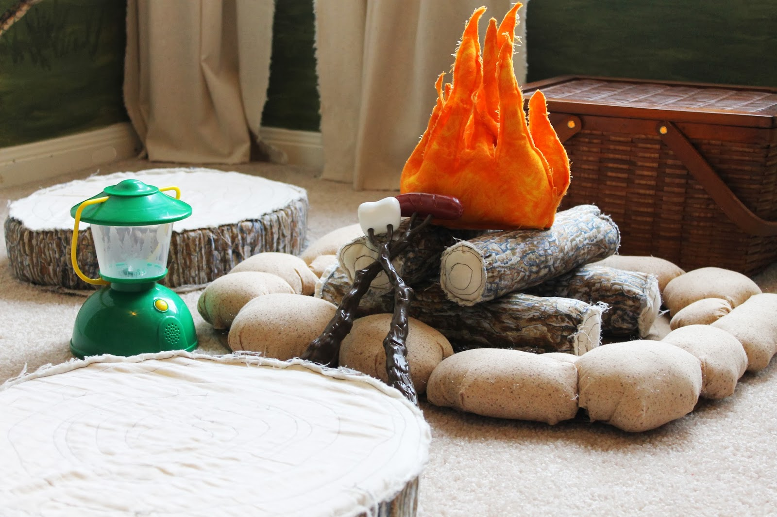 Camping Themed Kids Room, The Ragged Wren On Remodelaholic