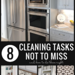 Cleaning Checklist Items And How To Do Them Right From Remodelaholic