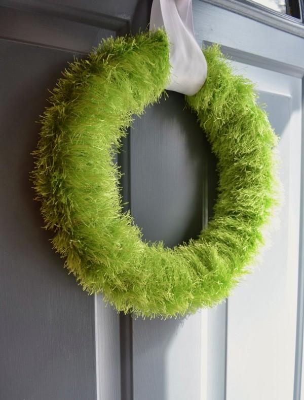Easy DIY Wall Decor Ideas Diy Grass Wreath