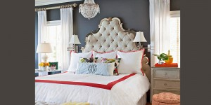 feature elegant eclectic bedroom