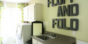 feature low cost laundry room makeover