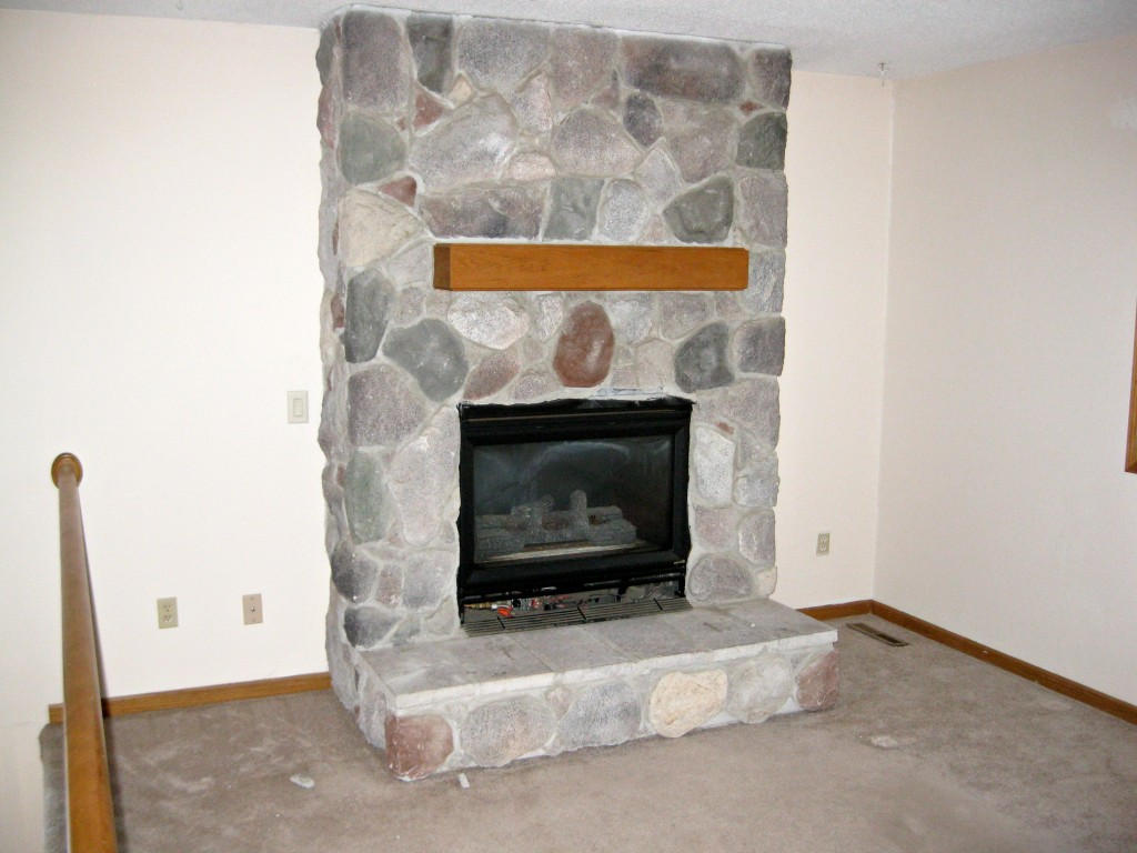 Built In With Fireplace Remodelaholic Fireplace Makeover With Built In Shelves