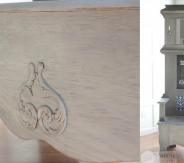 Reviving an Outdated Hall Tree Bench