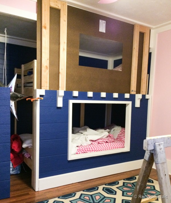 how to build a Bunk bed playhouse tutorial  (16 of 40)