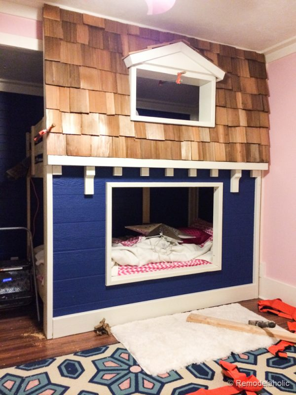 how to build a Bunk bed playhouse tutorial  (26 of 40)