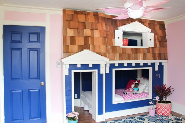 how to build a Bunk bed playhouse tutorial  31 of 40. Awesome Kid s Bunk Bed Playhouse