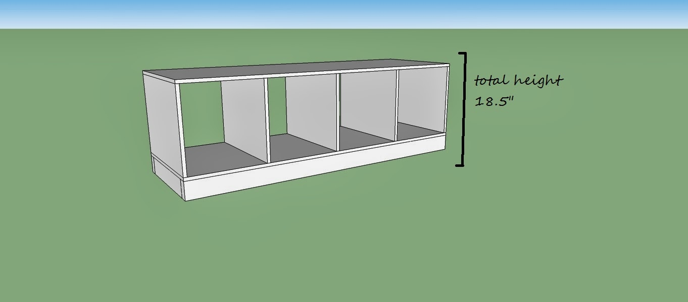 How To Build An Entryway Mudroom Bench With Cubbies, Home Heart And Hands  Featured On