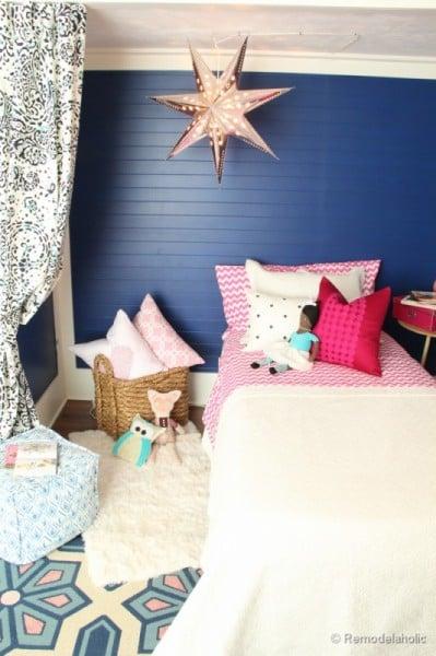 Kids Bed Nook With Star Light, Remodelaholic
