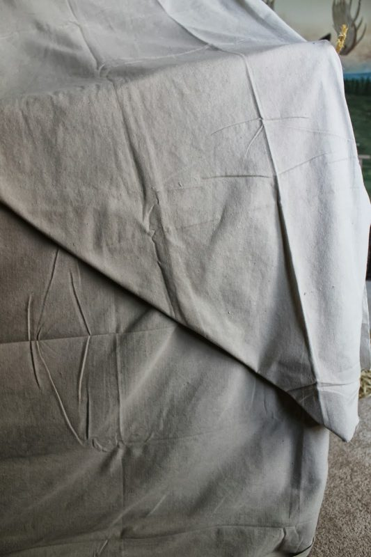 kids camping tent bed canopy from the outside, The Ragged Wren on Remodelaholic
