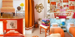 orange home inspiration