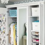 organized armoire feature