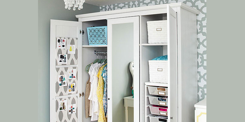 Get This Look: Organized Armoire