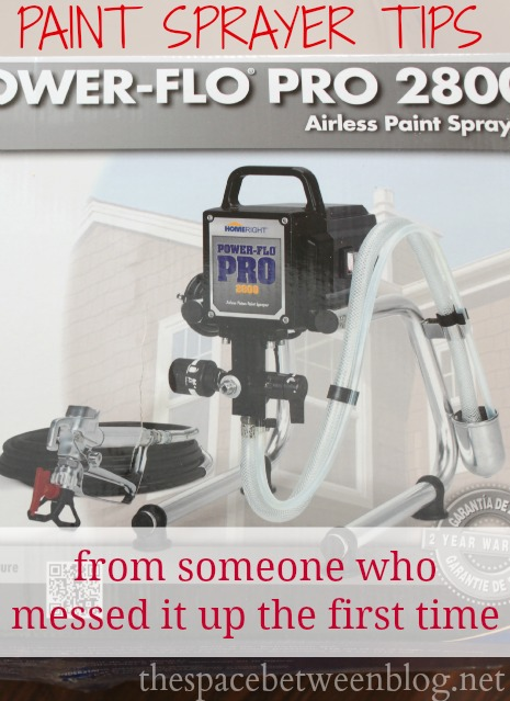 how to set up your paint sprayer from thespacebetweenblog.net