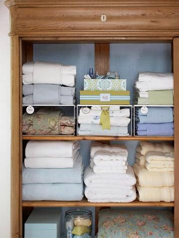 6 Steps to an Organized Linen Closet
