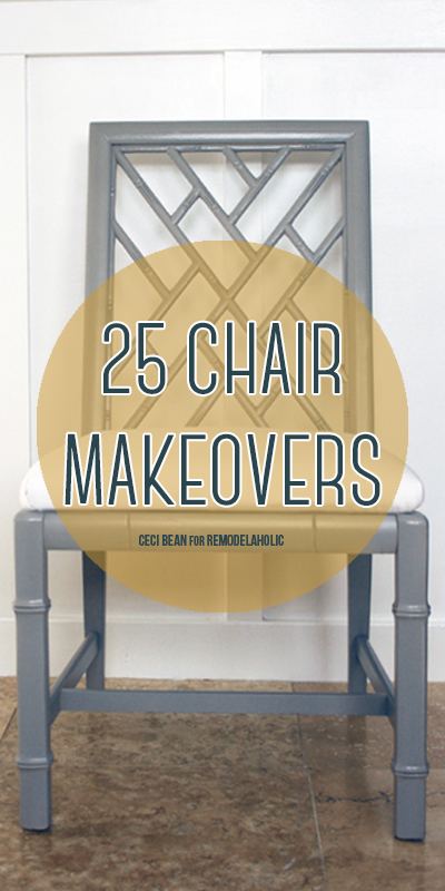 25 Chair Makeovers title