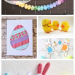 Awesome And Easy Easter Crafts For Kids Featured On Remodelaholic.com