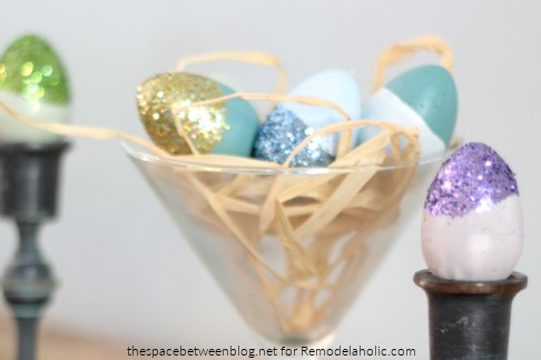 Easter Egg Ideas From The Space Between Featured On Remodelaholic