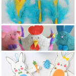 Have Fun With Your Kids Over Spring Break Creating These Awesome And Easy Easter Crafts For Kids Featured On Remodelaholic.com