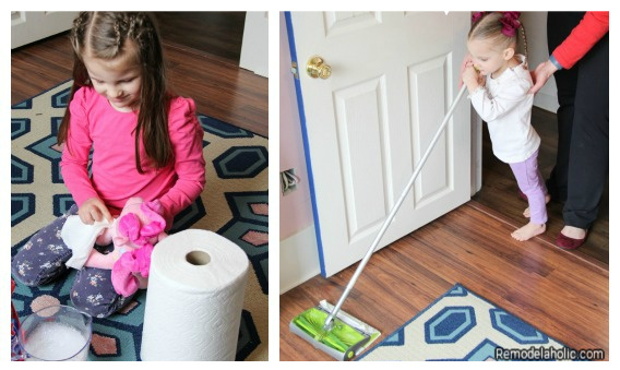 Kids And Spring Cleaning, From Remodelaholic